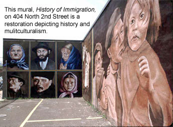 History of Immigration mural