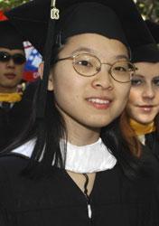 women grad