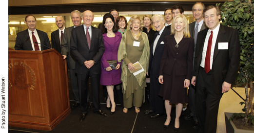 12/08/09, Dedicating the Roberts Proton Therapy Center ...