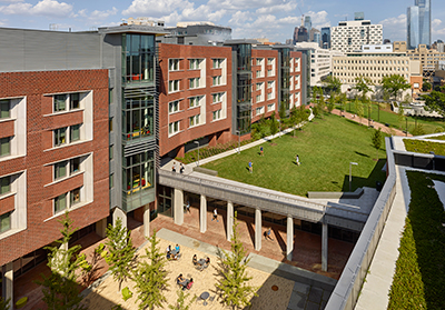 caption:Penn's New College House is a residential building designed for the 21st century. Penn has been housing students for well over a century and there have been many changes over the years.