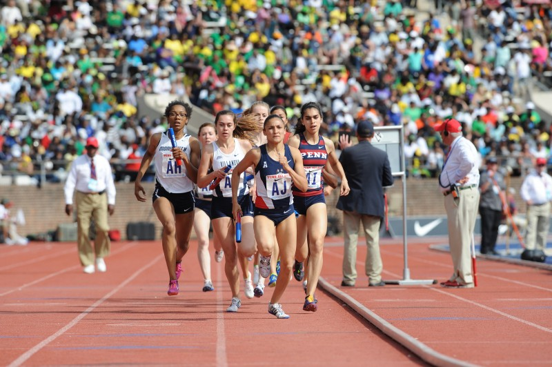 caption: Photo courtesy of the Penn Relays.